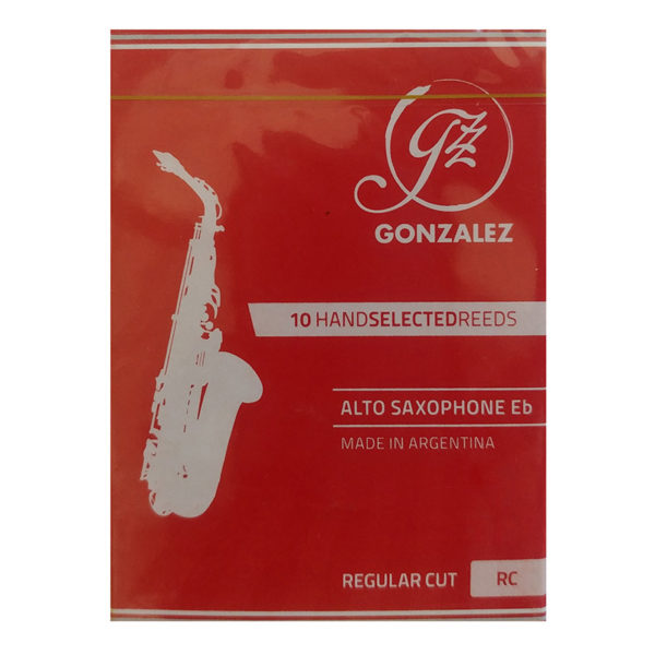Gonzalez Alto Saxophone Reeds – Regular...