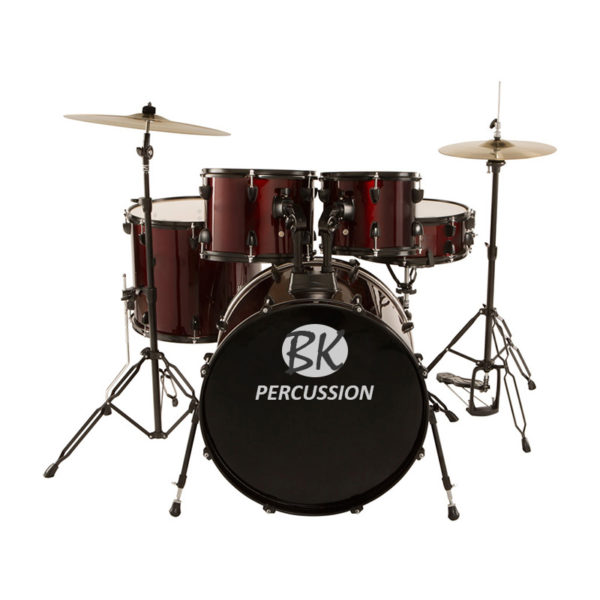 BK 5 Piece Drumset With Hardware...