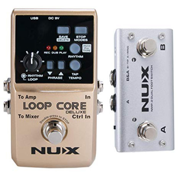 NUX Loop Core Deluxe Bundle Pack
