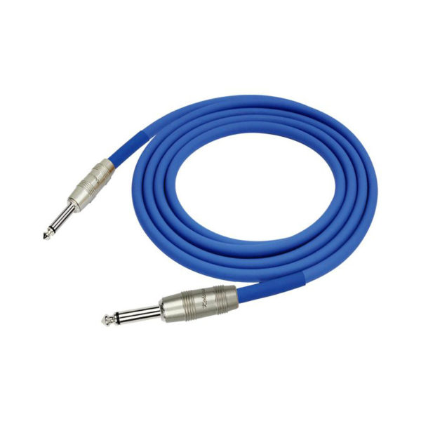 Kirlin 6m Instrument Cable Blue