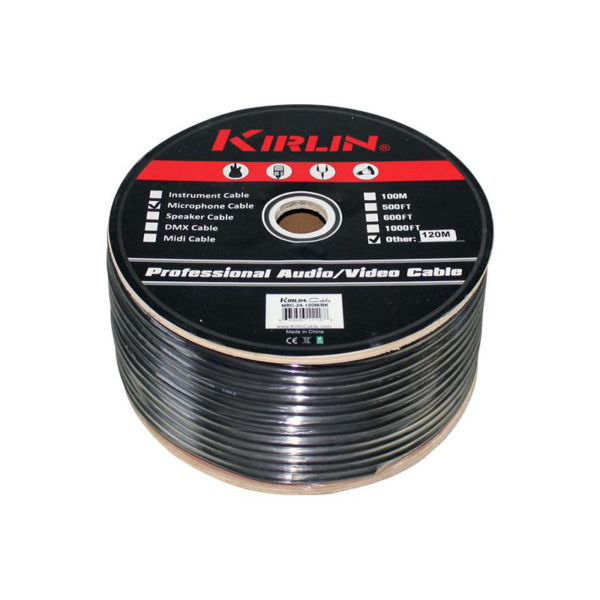 Kirlin 24 AWG Microphone Cable 100M