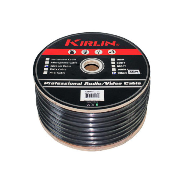 Kirlin 14 AWG Speaker Cable 100M