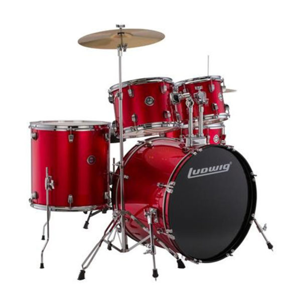 Ludwig Accent Drive 5 Piece Drumset...