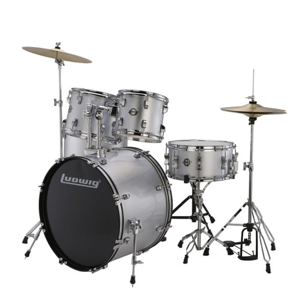 Ludwig Accent Fuse 5 Piece Drumset...