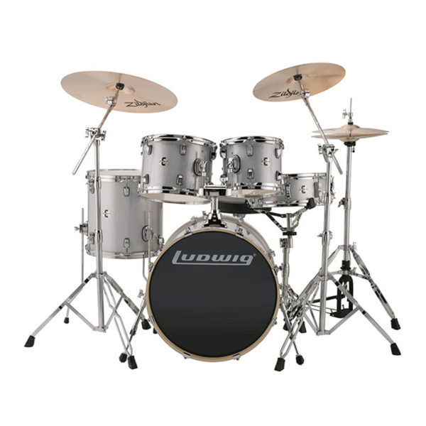 Ludwig Element 5 Piece Drumset –...