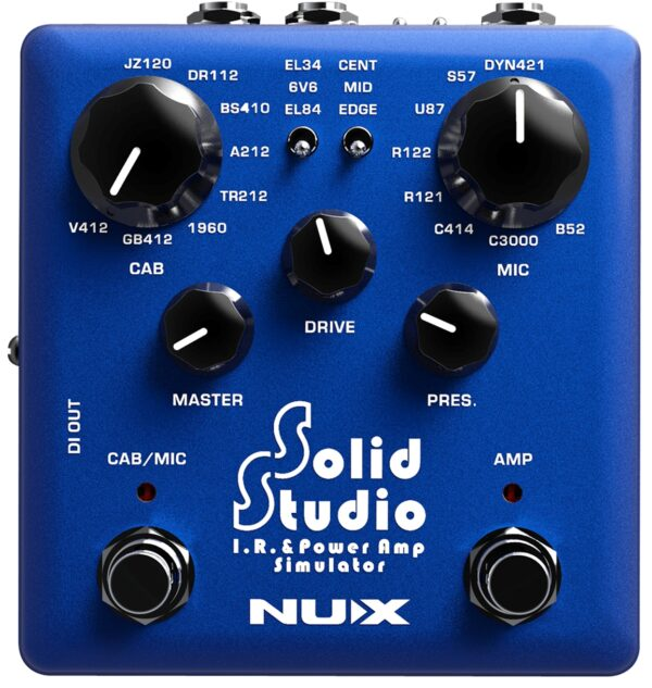 NUX Solid Studio Power Amp Simulator